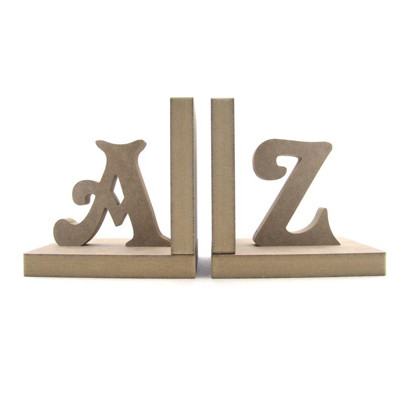 A & Z Bookends