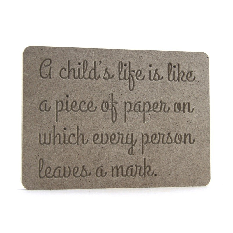 A child's life is like....
