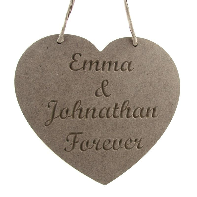 Personalised  Forever Love Heart