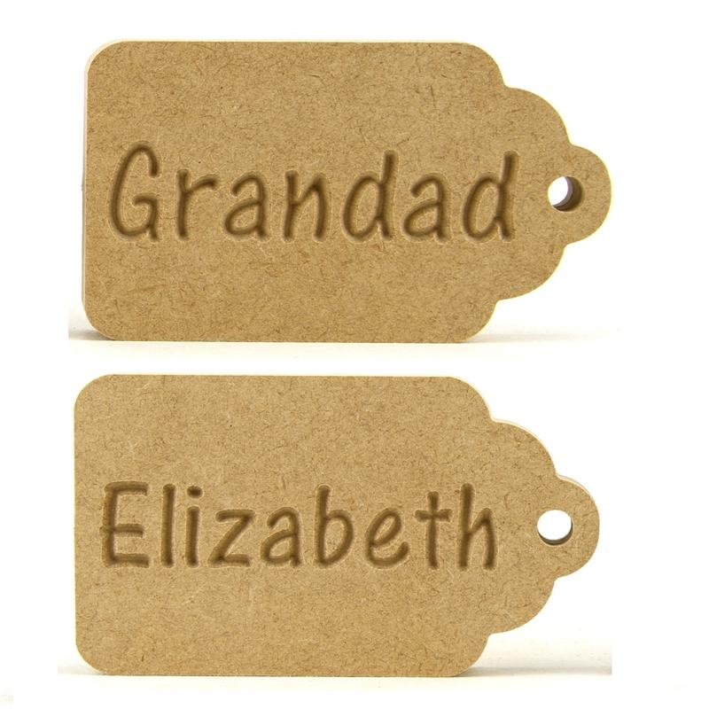 Personalised Gift Tag