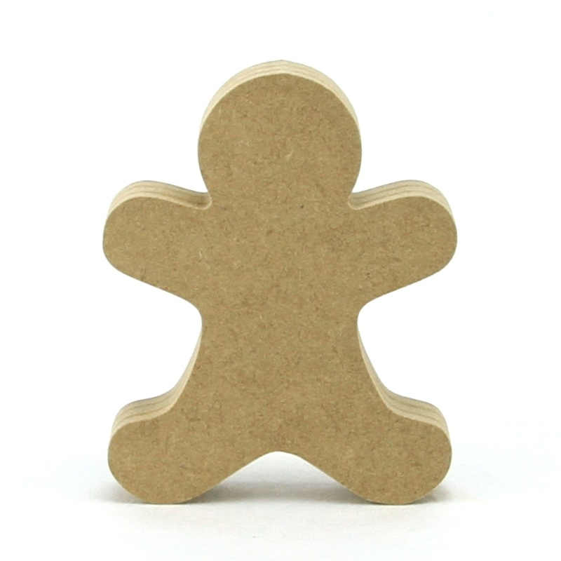 Gingerbread Man Plain Shape