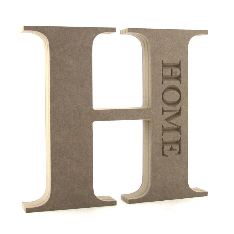 H engraved 'HOME'