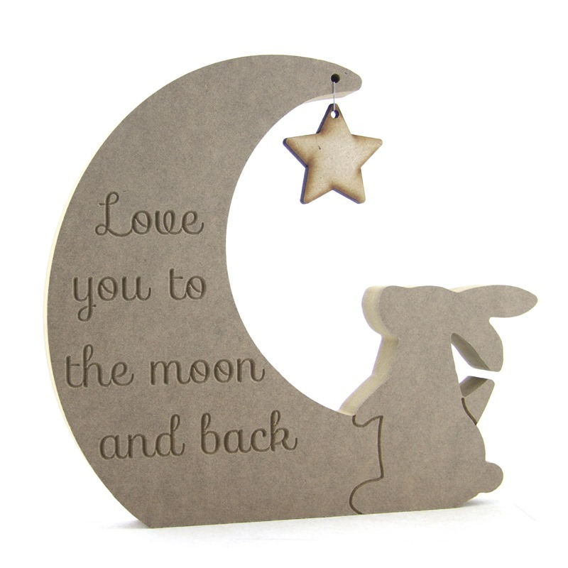 Moon, Hare & Star, 'Love you to.....r'