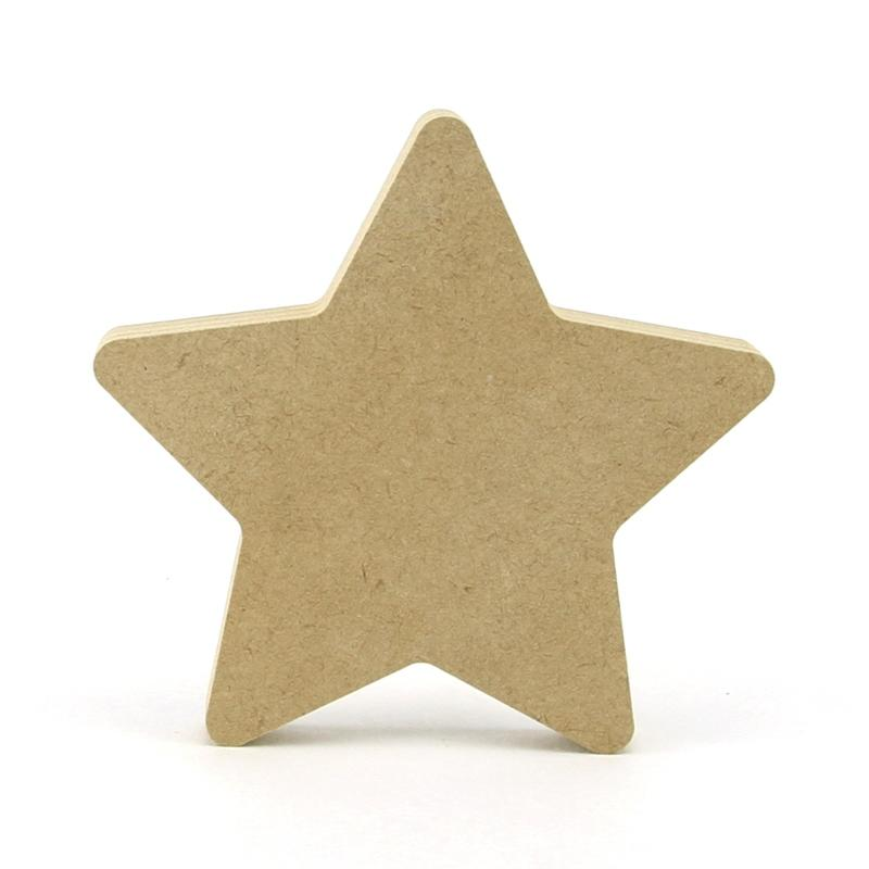 Rounded Point Star Shape