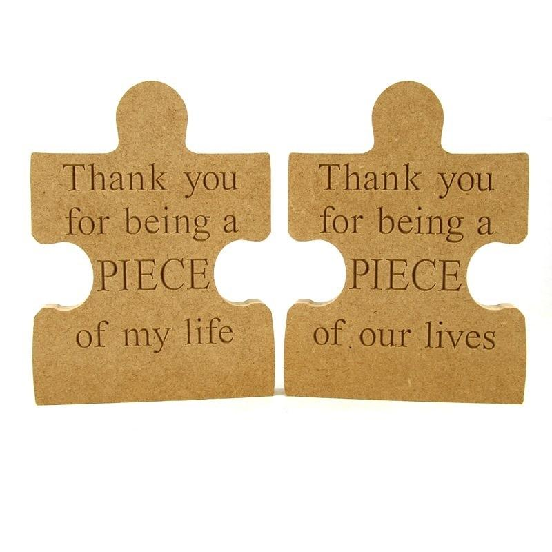 Puzzle Piece 'Thank you'