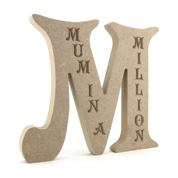M - Engraved Mum in a Million