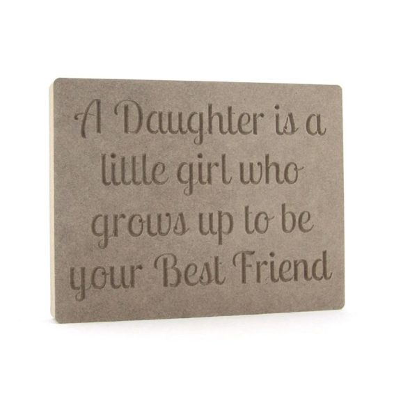 Daughter(s) Best Friend Plaques