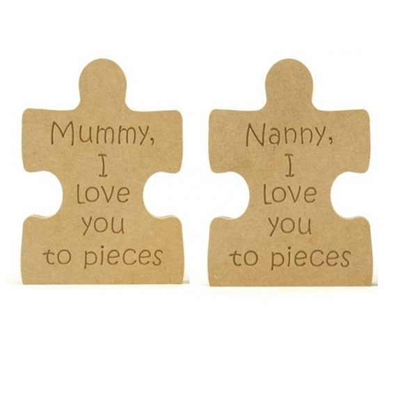 Love you to pieces. Puzzle Piece