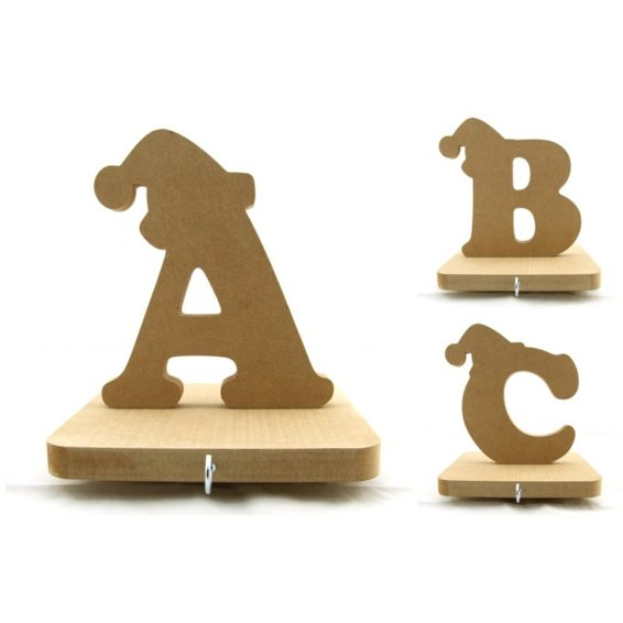 Christmas Alphabet Stocking Hangers