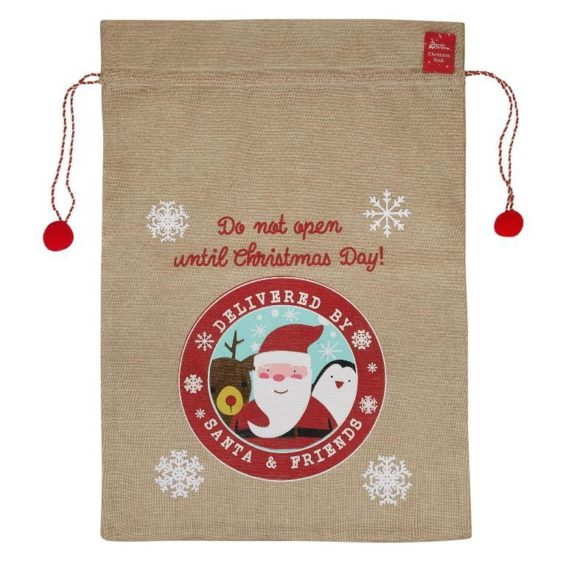 Delivered by Santa & Friends Santa Sack.​