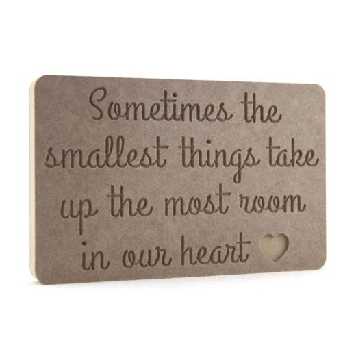 Sometimes the smallest things...