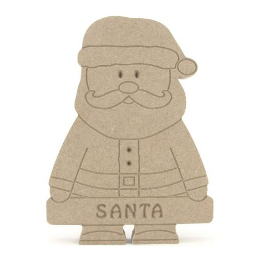 Santa Holding a Banner (Available Personalised)