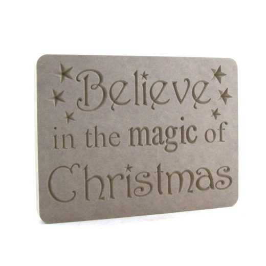 'Believe in the Magic of Christmas' Plaque