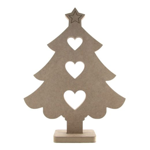 Large Display Size Wooden Christmas Tree