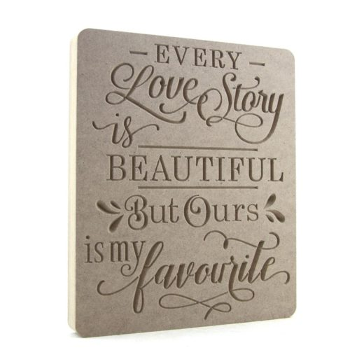 Every Love Story Is Beautiful...Shop Display Sized