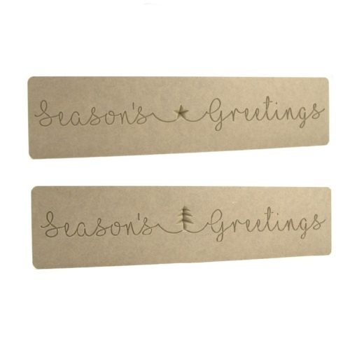 Season's Greetings Word Block