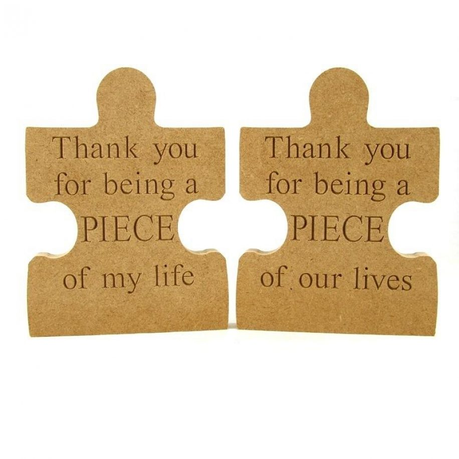 Puzzle Piece Thank You