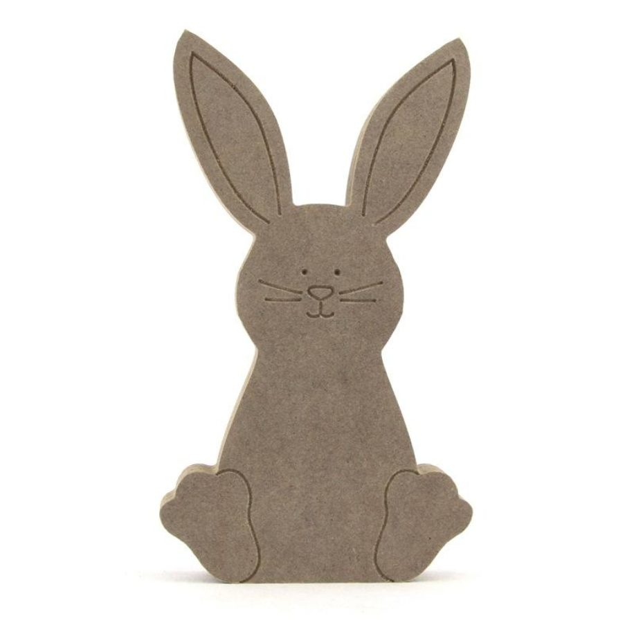 Engraved Bunny Rabbit