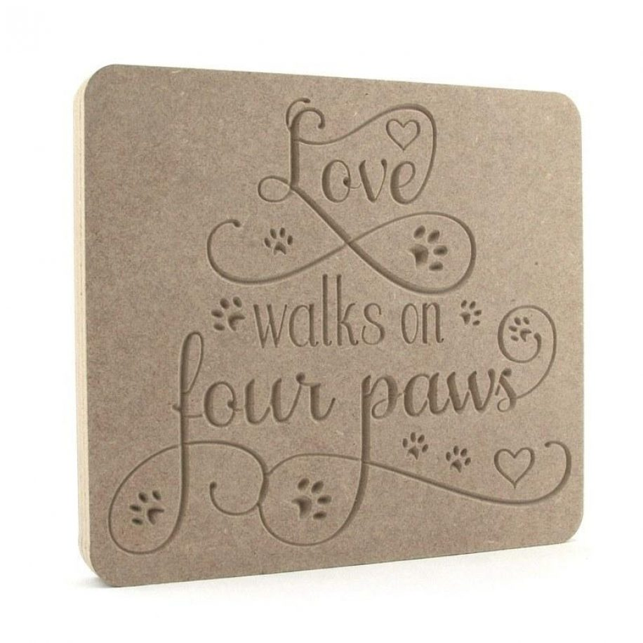 Love walks on four paws.