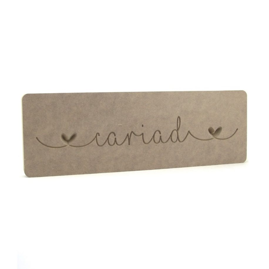 Cariad Word Block