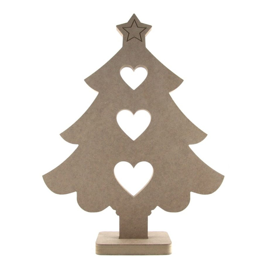 Large Display Size Wooden Christmas Tree Makers Shed Custom Mdf