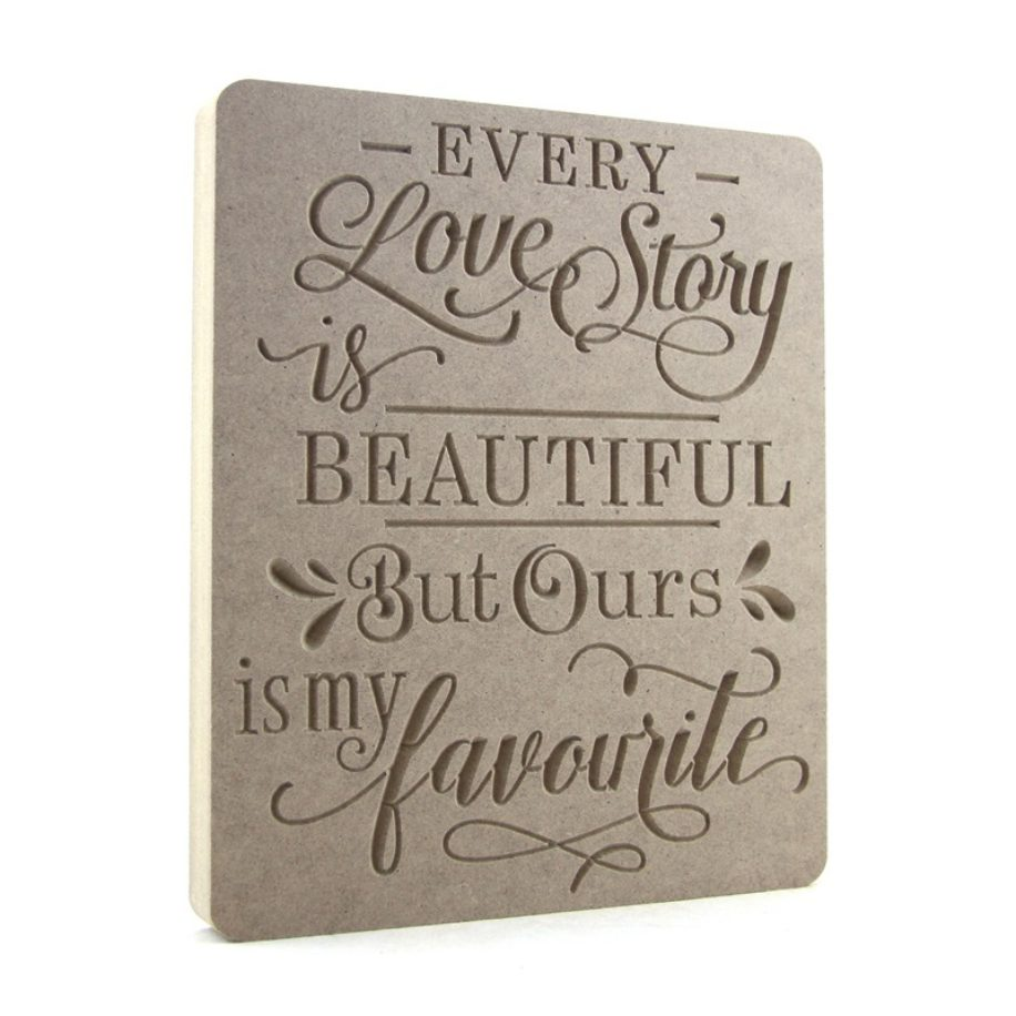 Every Love Story Is Beautiful......