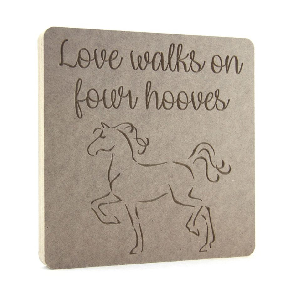 Love walks on four hooves
