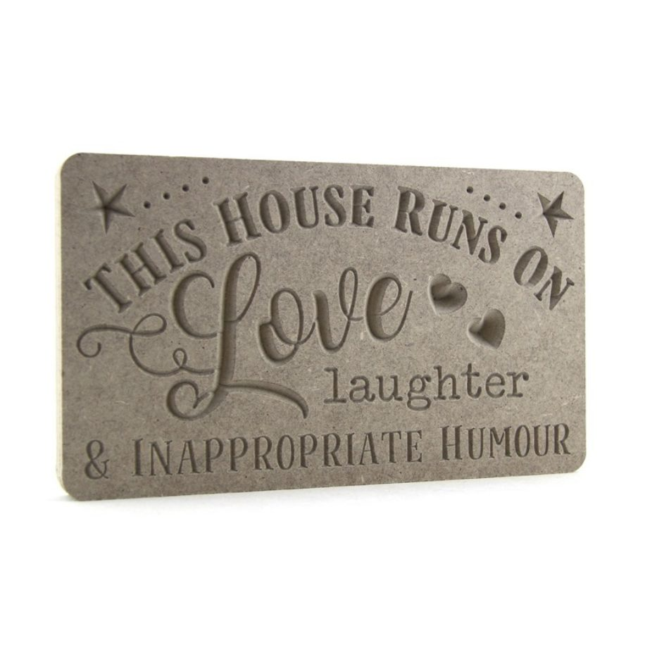 'This House runs on love, laughter...'