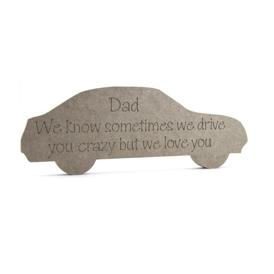 Engraved Car