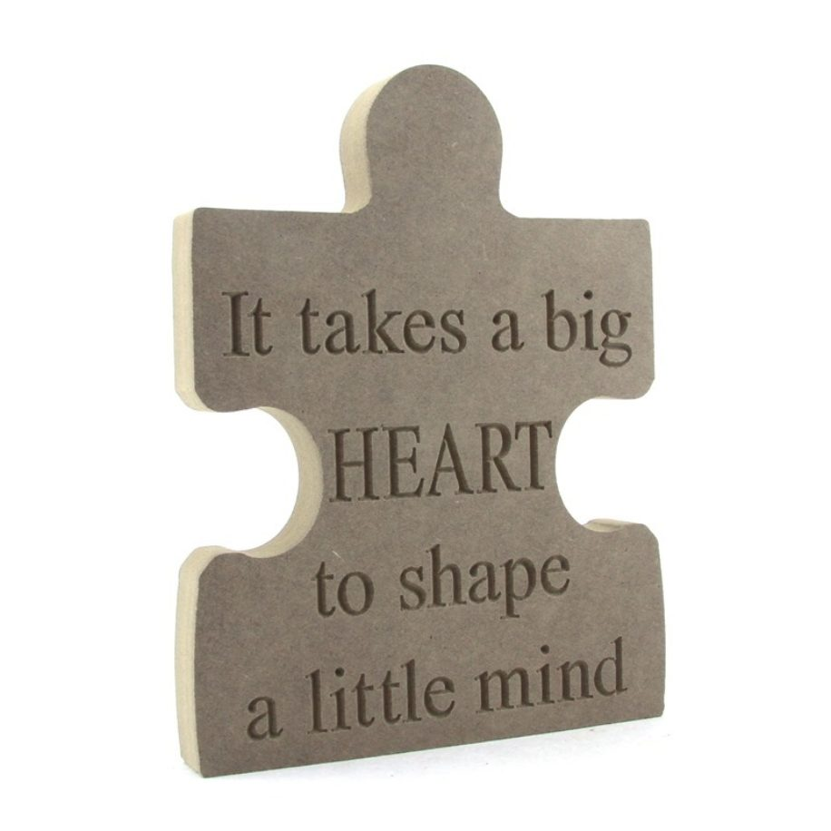 Teachers Puzzle - Big Heart