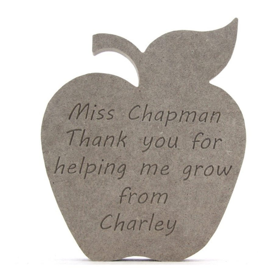 Personalised Teachers Apple