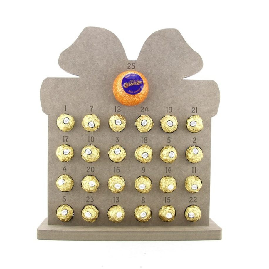 Ferrero Roche Gift Shaped Advent Calendar