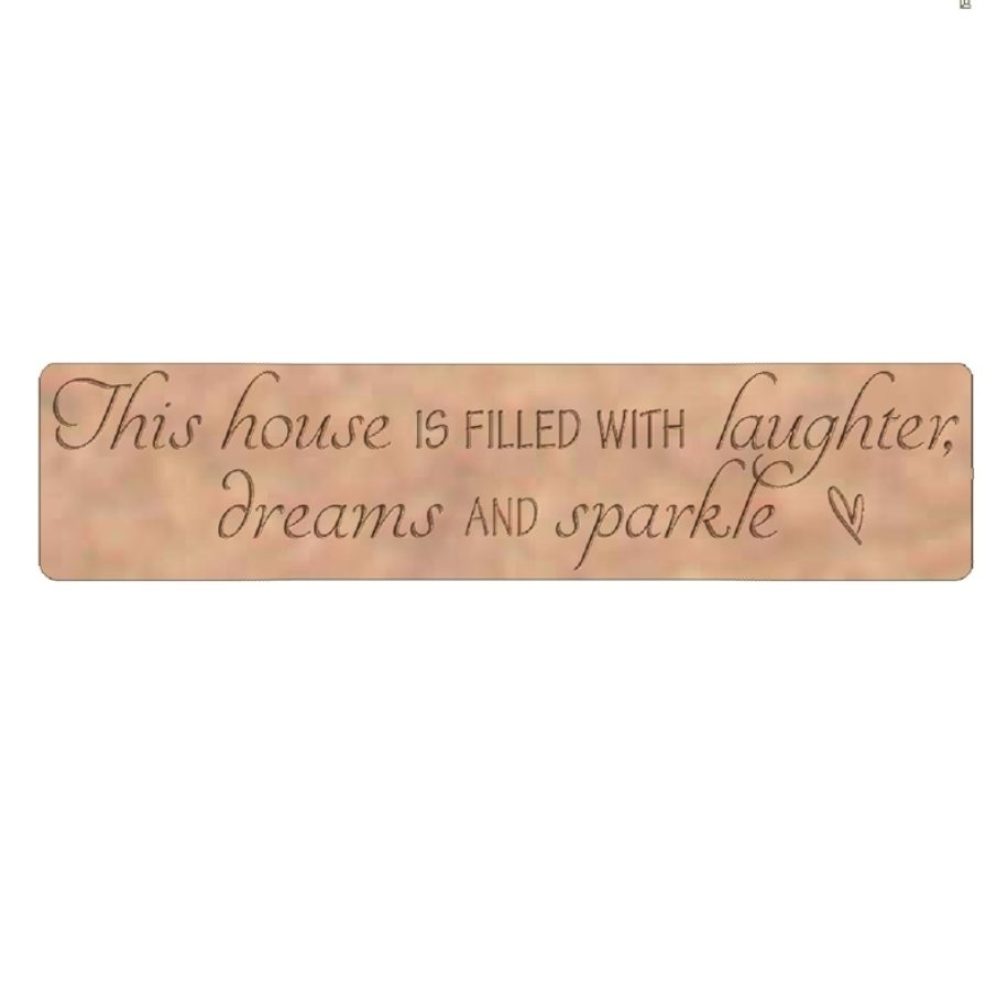 This house is filled with laughter, dreams and sparkle