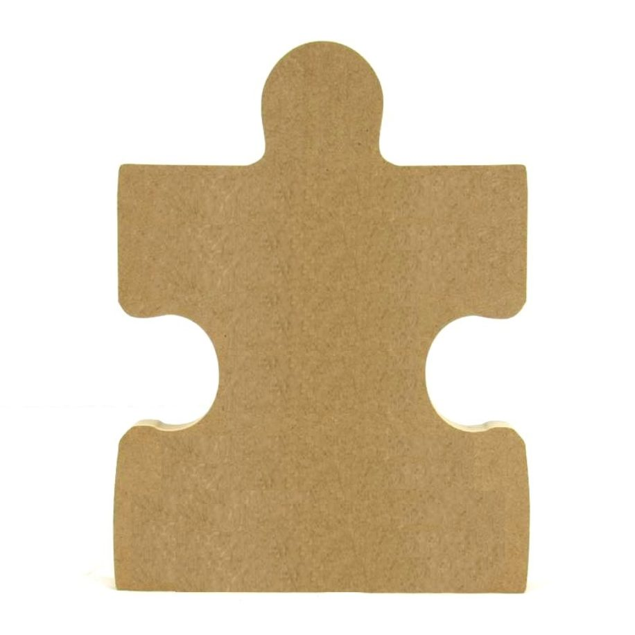 Middle Edge Puzzle Piece