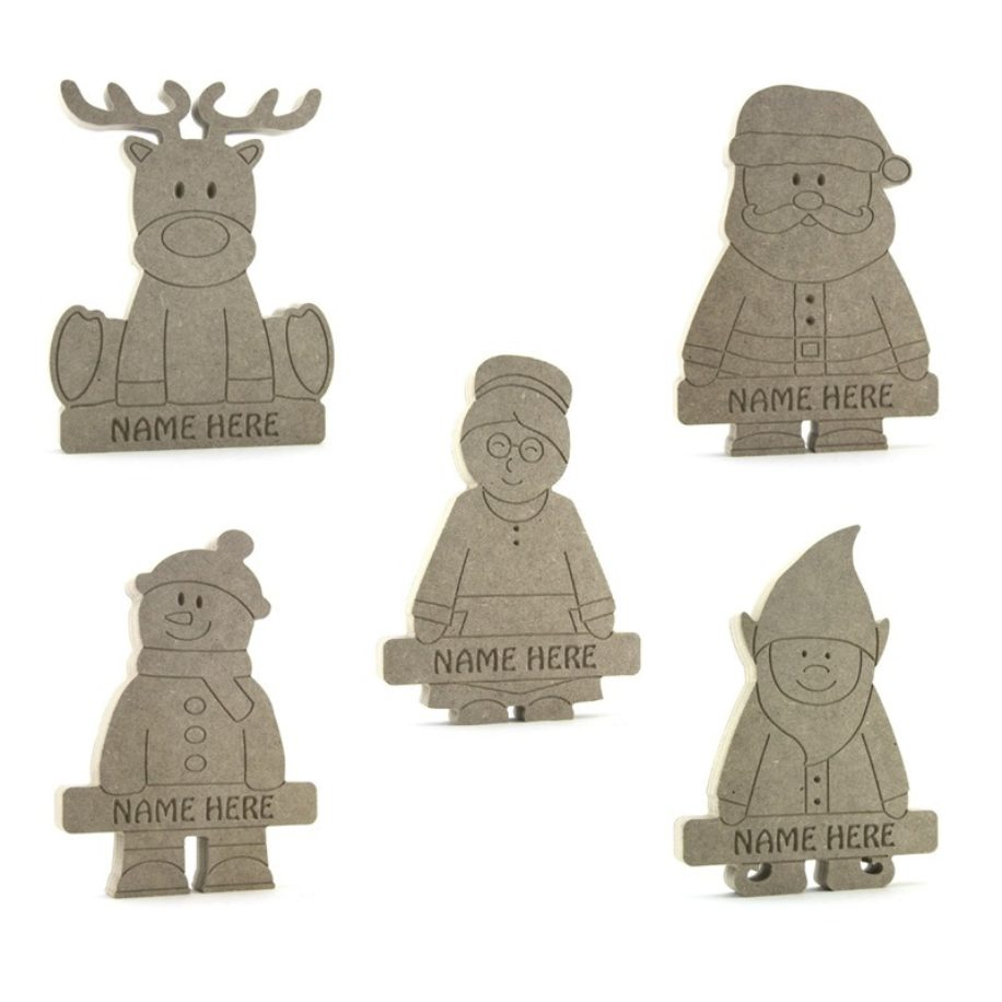 Christmas Characters Personalised