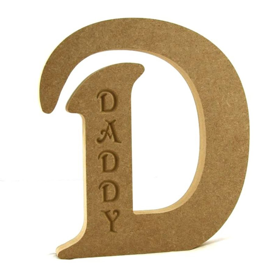 D Engraved 'DADDY'