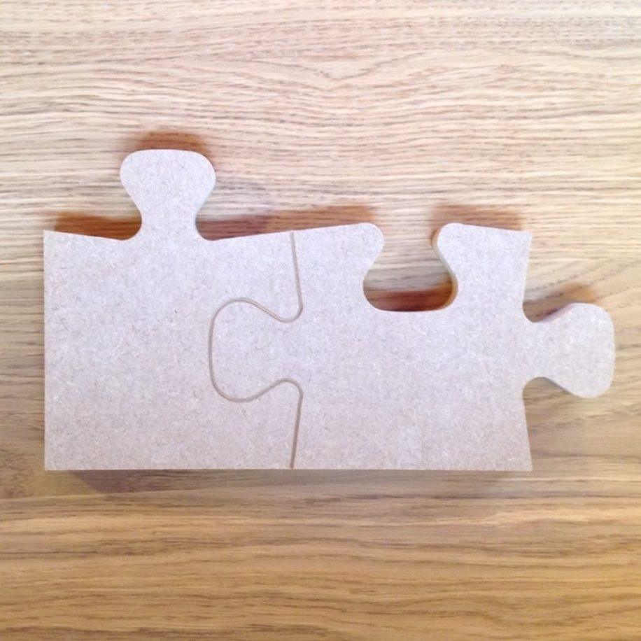 Edge Puzzle Pieces - Makers Shed - Custom MDF Craft Shapes ...