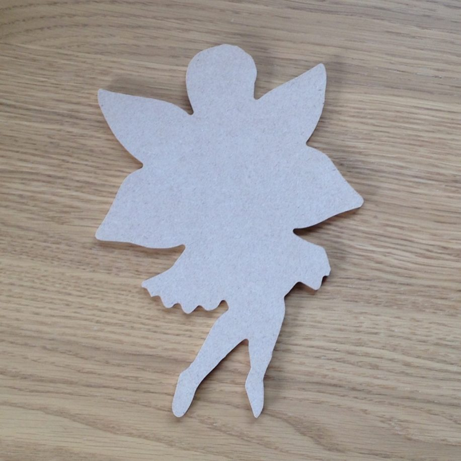Fairy flying makers shed custom mdf craft shapes and for Fairy door shapes