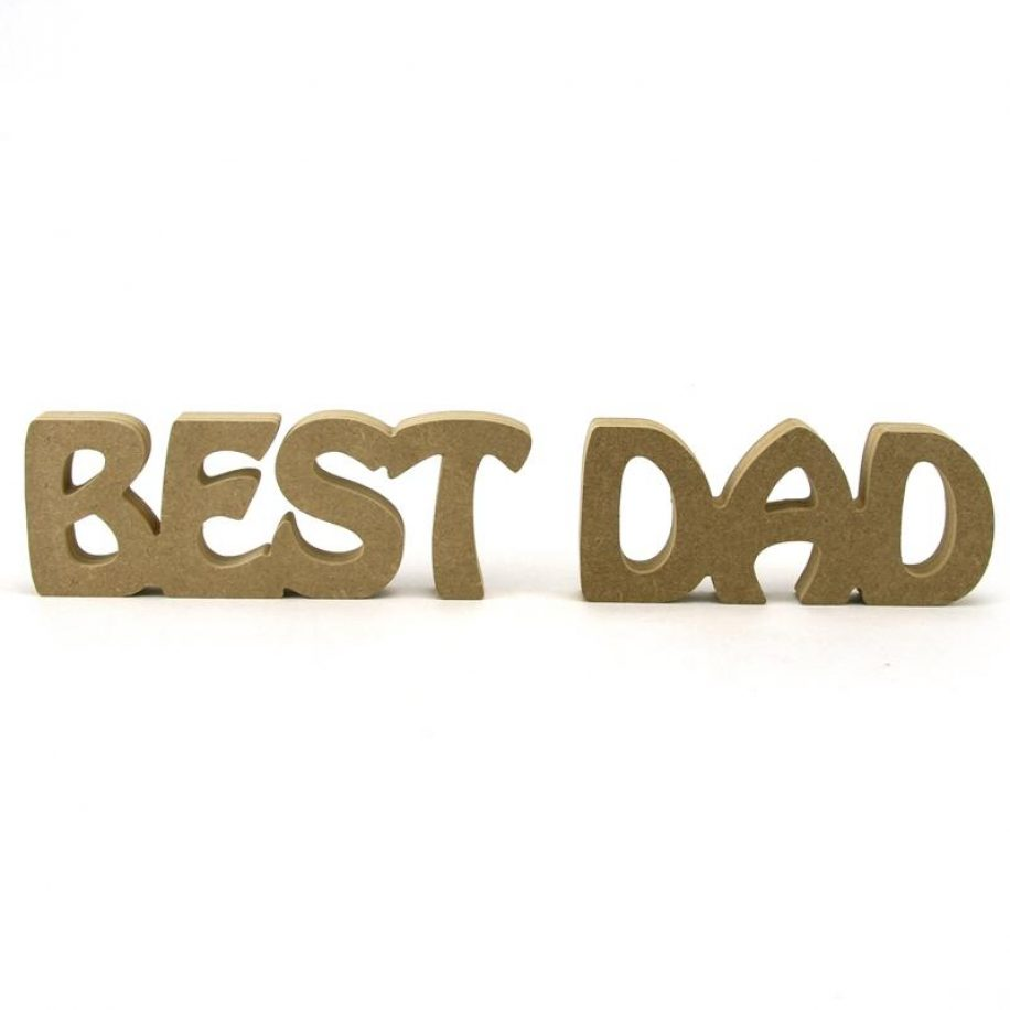 Best Dad Chunky Font