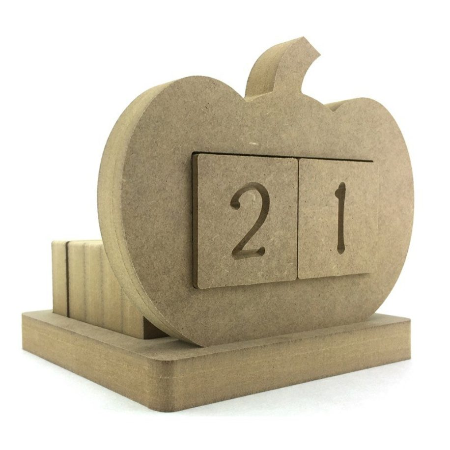 Pumpkin  Shaped Countdown Calendar
