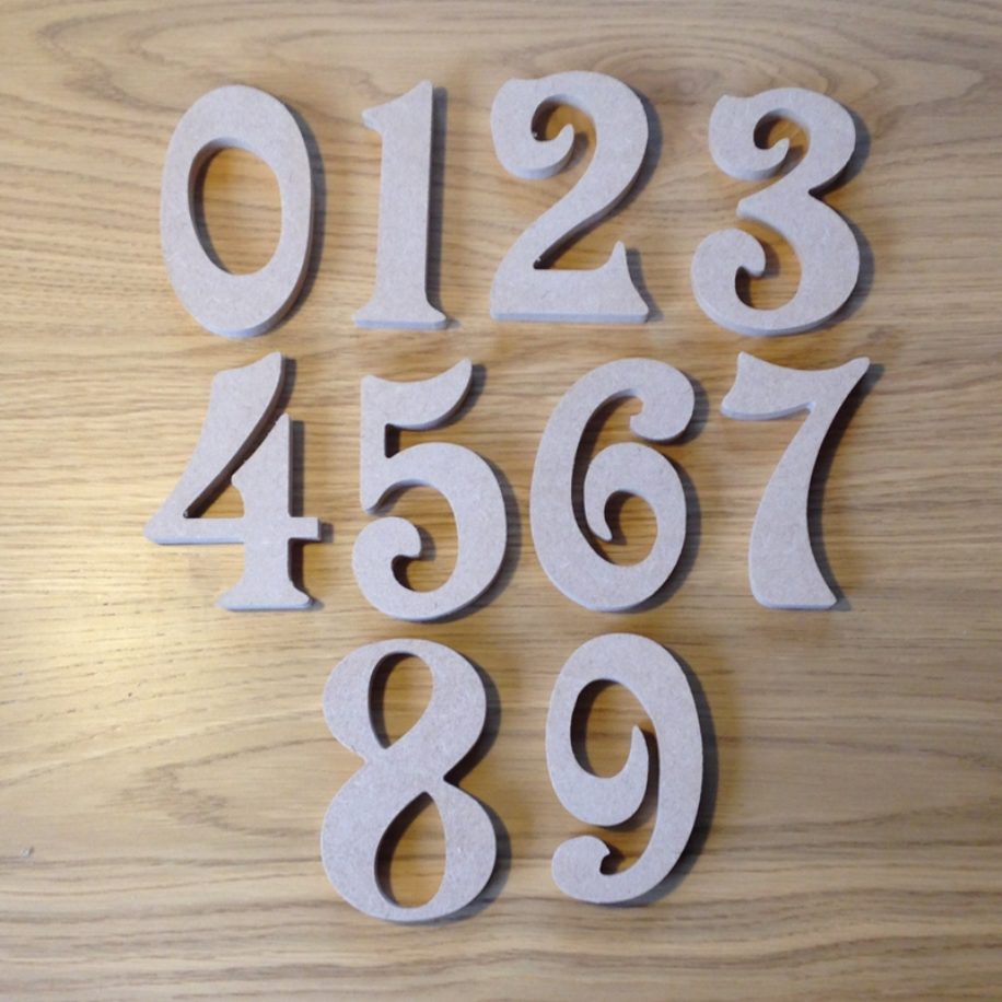 Numbers - Victorian Font