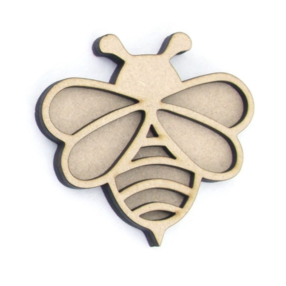 3D Bee (Large)  Laser Cut