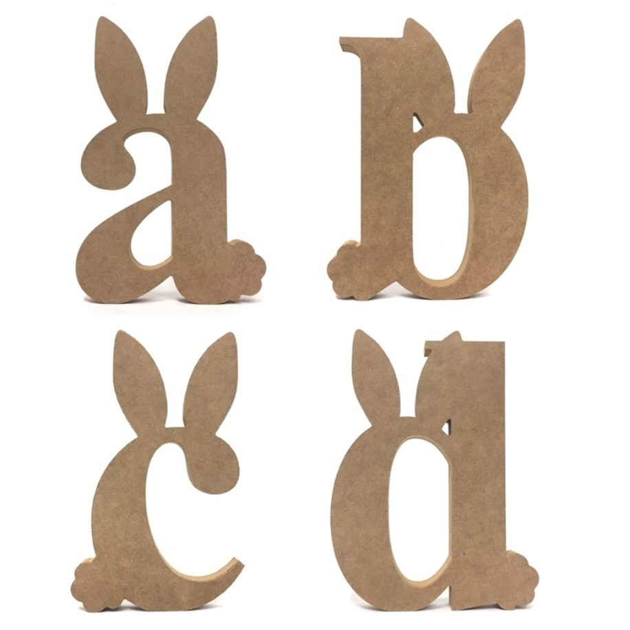 Easter Bunny Letters (Lowercase)