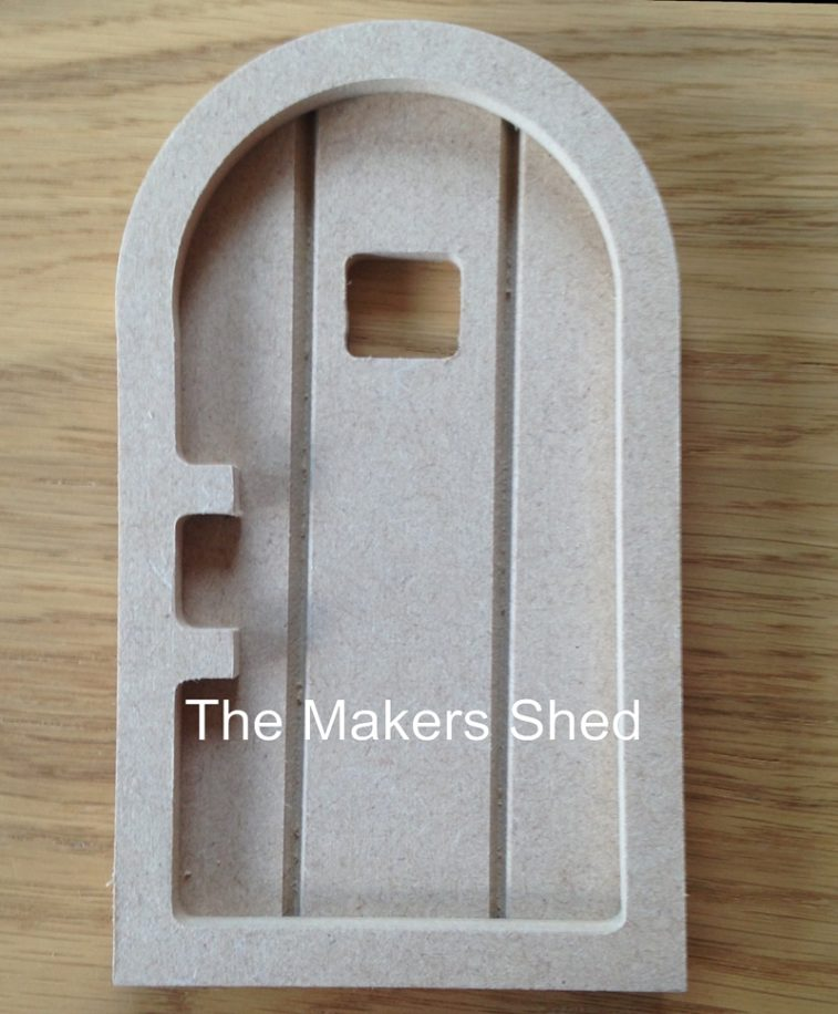 Fairy door 39 b 39 makers shed custom mdf craft shapes and for Fairy door shapes
