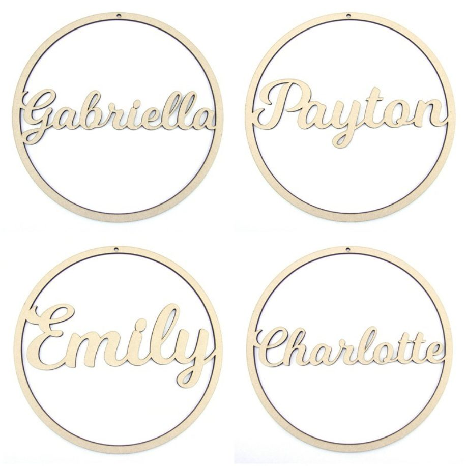 Hoop Names - Personalised