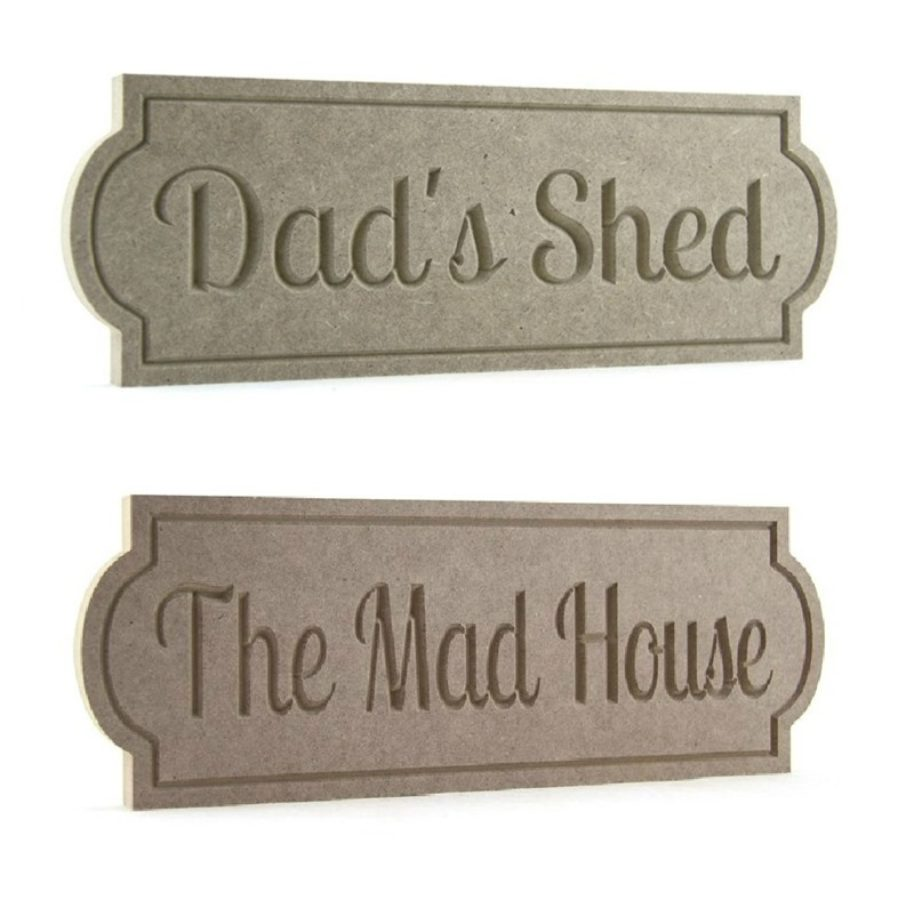 Street Sign Style Plaques