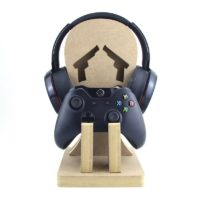 Single Game Controller & Headset Stand PLAIN