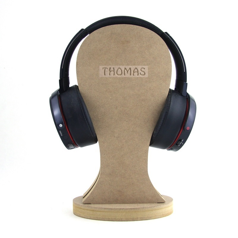 Headphone Stand (Engraved)